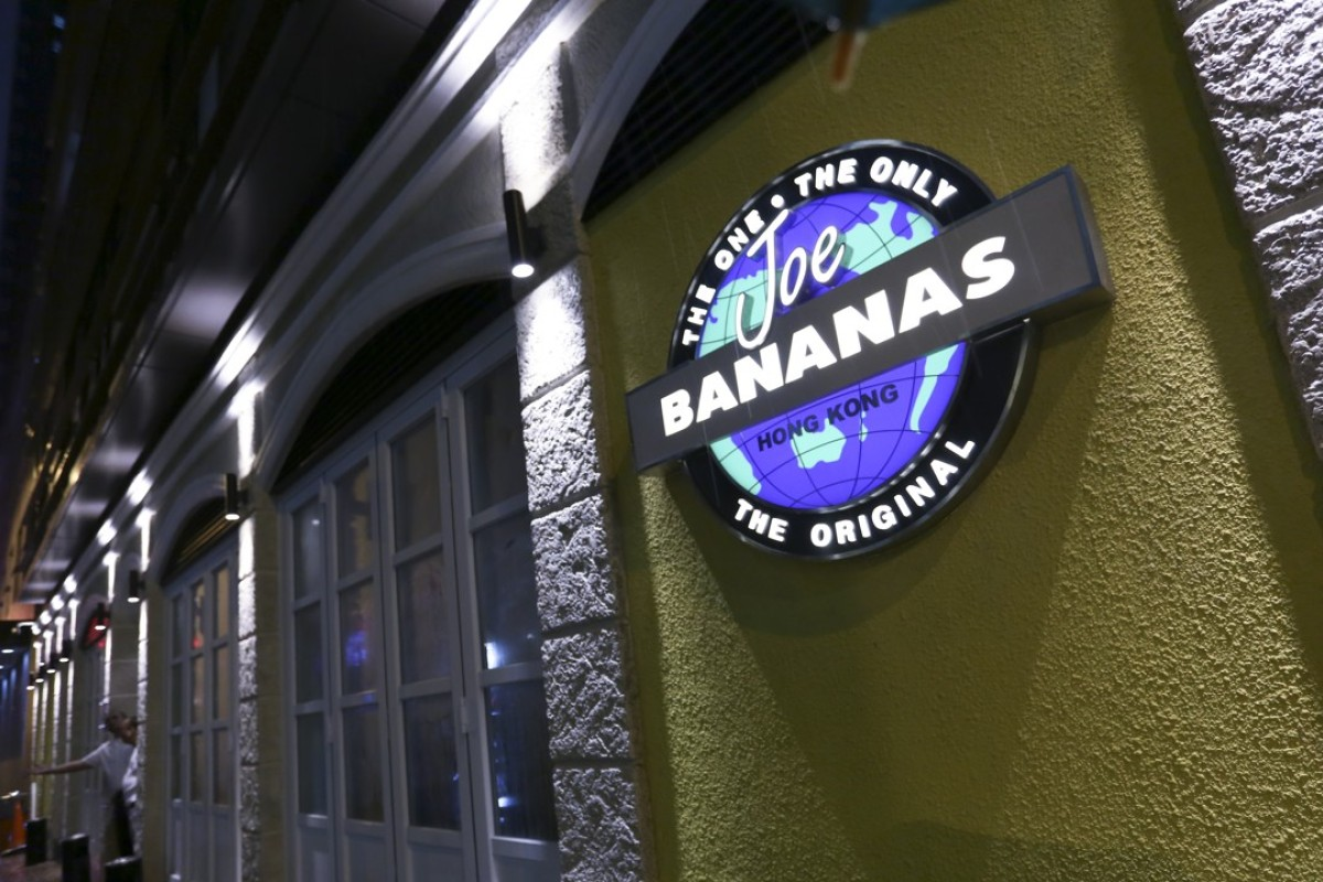 An upmarket bar in a low-market area - Joe Bananas in Wan Chai, which Andy Neilson and his wife opened in 1986. Picture: Sam Tsang