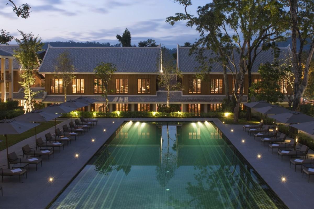 The Azerai Luang Prabang hotel.