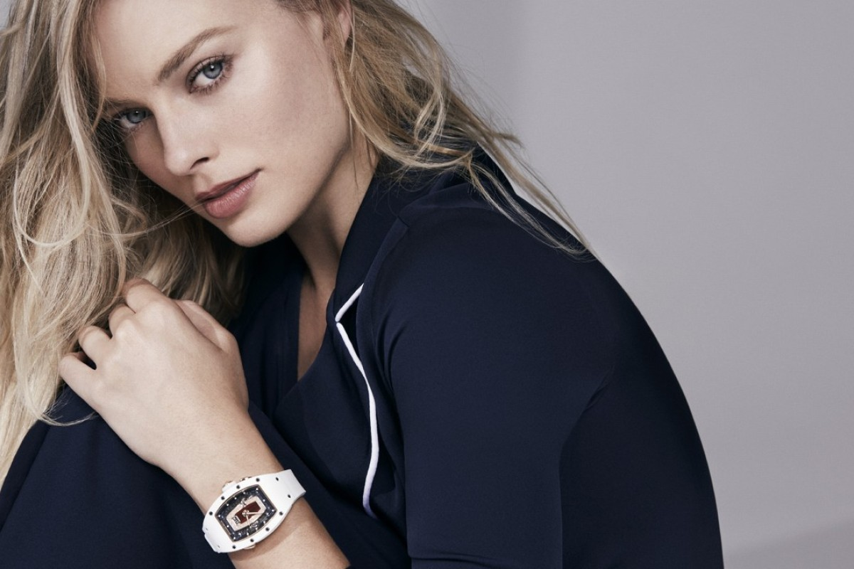 Margot Robbie designs new models for Richard Mille