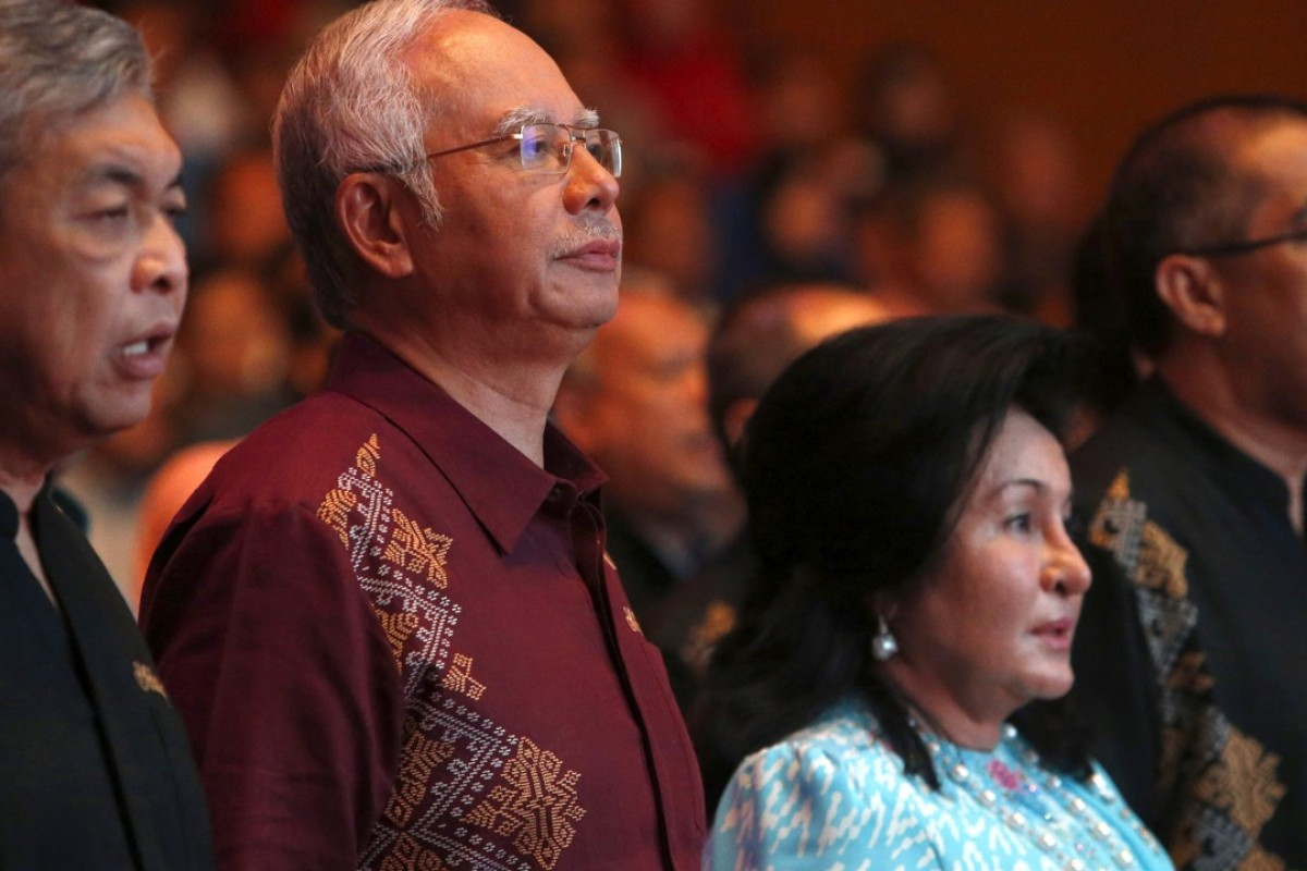 Malaysian Prime Minister Najib Razak and wife Rosmah Mansor. Photo: Reuters