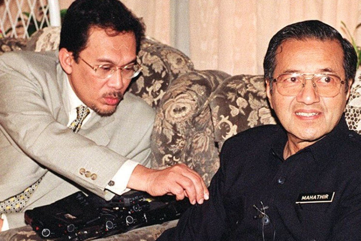 Image result for mahathir and anwar