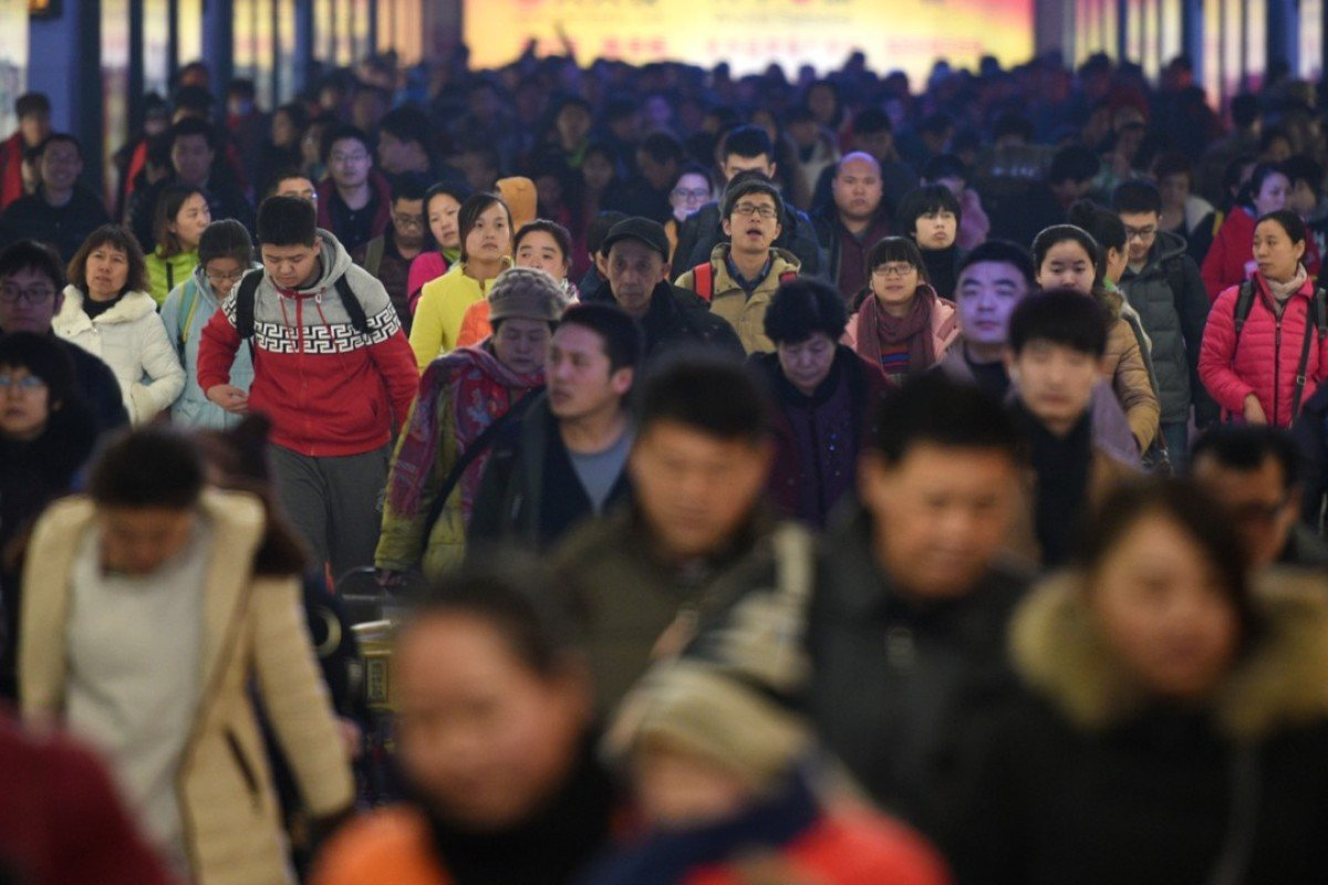 Passengers leave Beijing Railway Station in downtown Beijing, China. A new report shows that China is raising its soft-power profile internationally. Photo: Xinhua