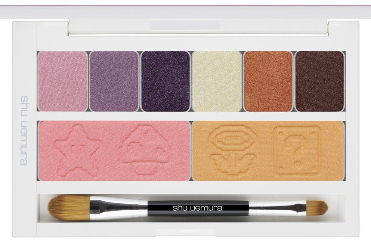 Super Mario Bros x Shu Uemura beauty collection