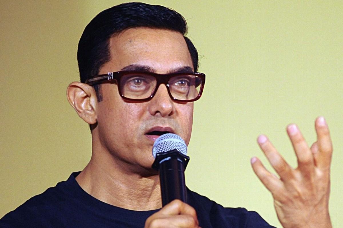 Bollywood actor Aamir Khan at a poster launch of Dangal in Mumbai. Photo: AFP