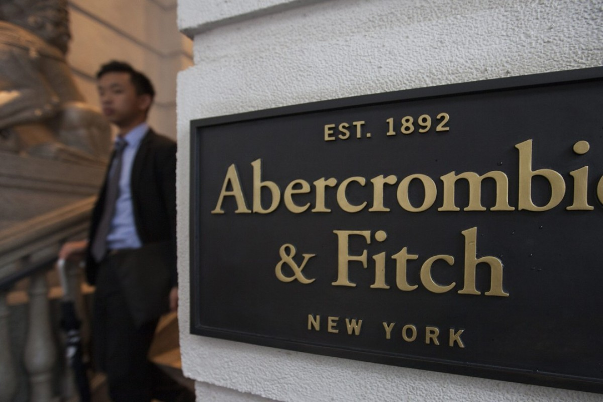 The flagship store of Abercrombie & Fitch in Central, Hong Kong. Photo: EPA