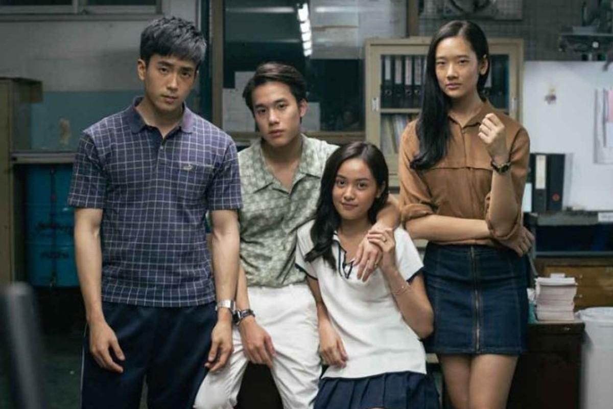 Novice actors take the four leading roles in 'Bad Genius'.