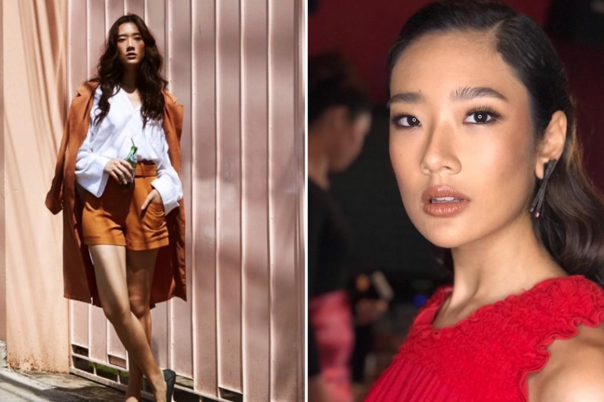 Actress Chutimon Chuengcharoensukying is also a fashion model.