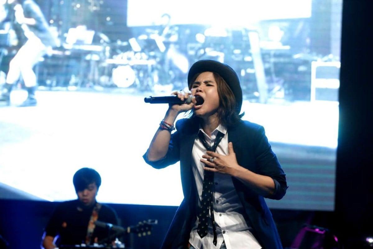 Singaporean singer Olinda Cho. Photo: The Straits Times