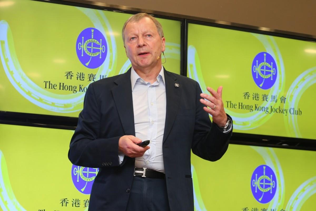 Hong Kong Jockey Club chief executive officer Winfried Engelbrecht-Bresges. Photos: Kenneth Chan