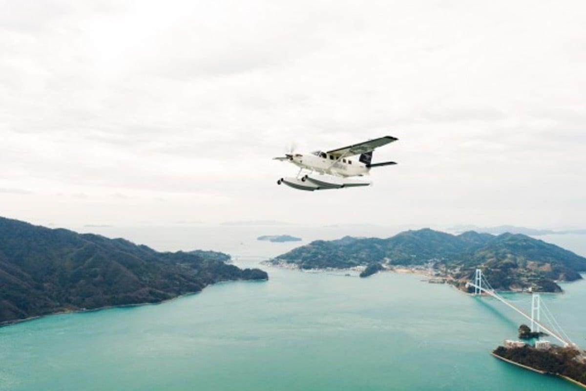 Setouchi Seaplanes hopes to launch a new flight service linking Sanin and Sanyo