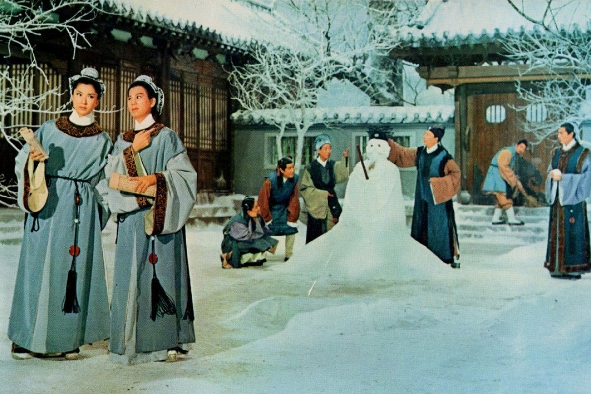 Betty Loh Ti (left) and Ivy Ling Po in The Love Eterne (1963).