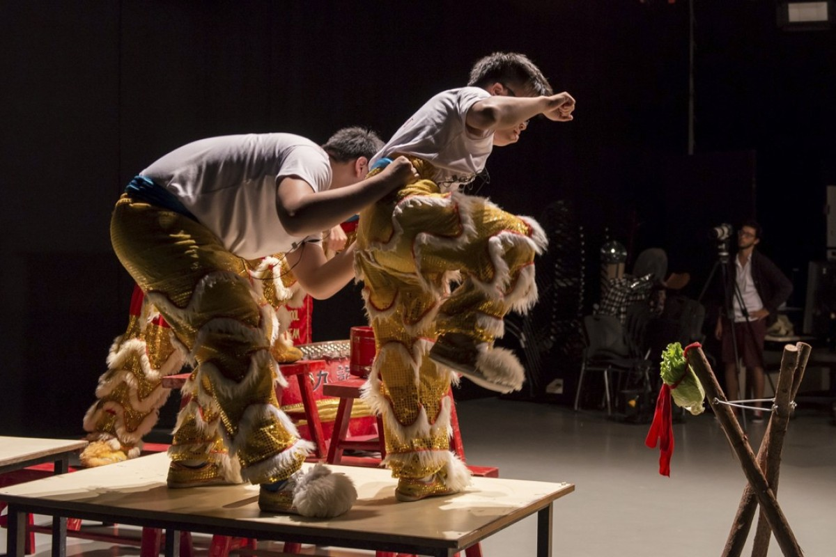 Mute Situation #2: Muted Lion Dance, by Samson Young. Picture: courtesy of Samson Young