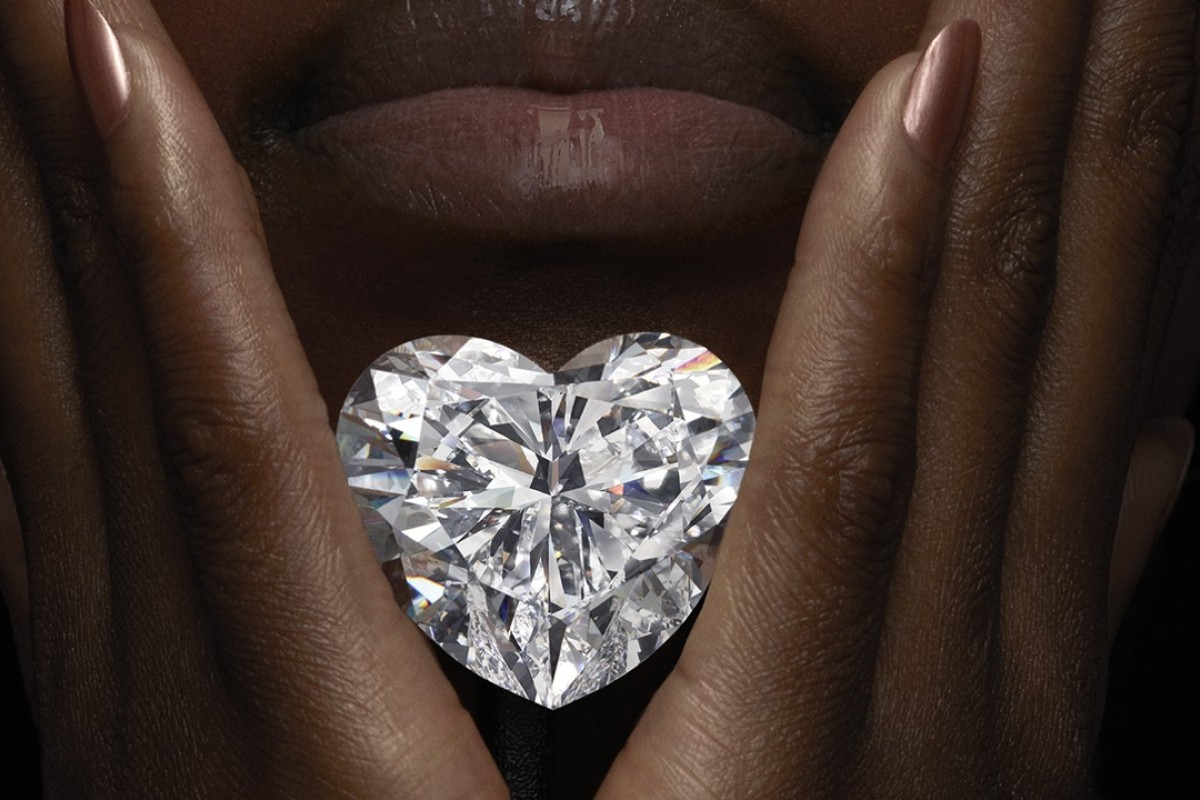 The Graff Venus diamond.