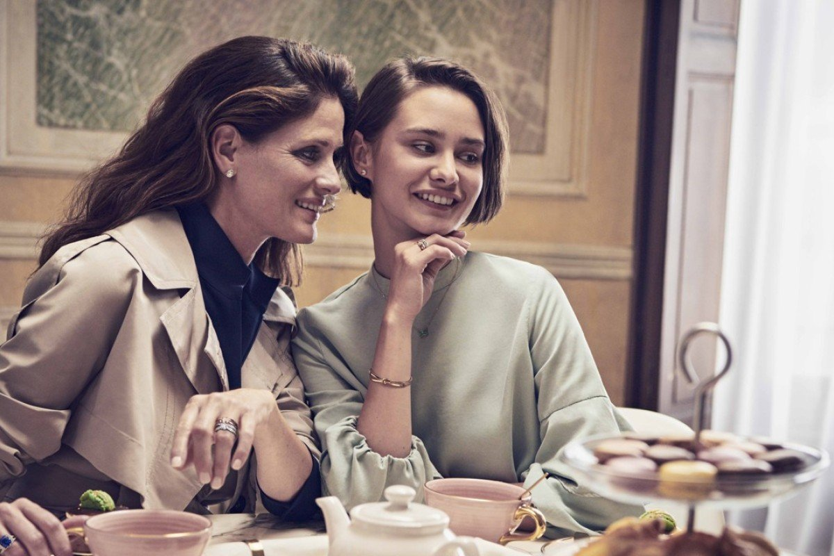 The feminine and whimsical collection features rings, bracelets, earrings, ear studs and pendants set with diamonds