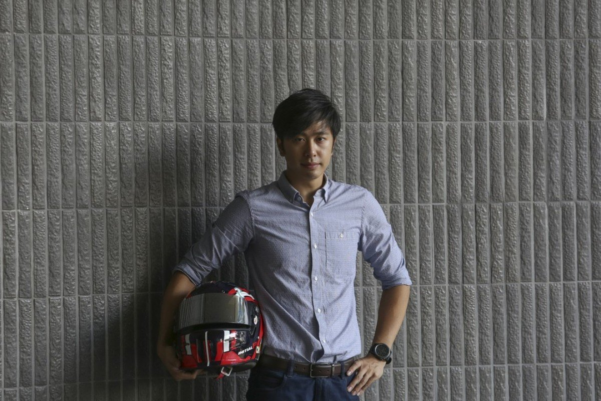 Edgar Lau, a Hong Kong driver who recently raced at Le Mans in France. Picture: Jonathan Wong
