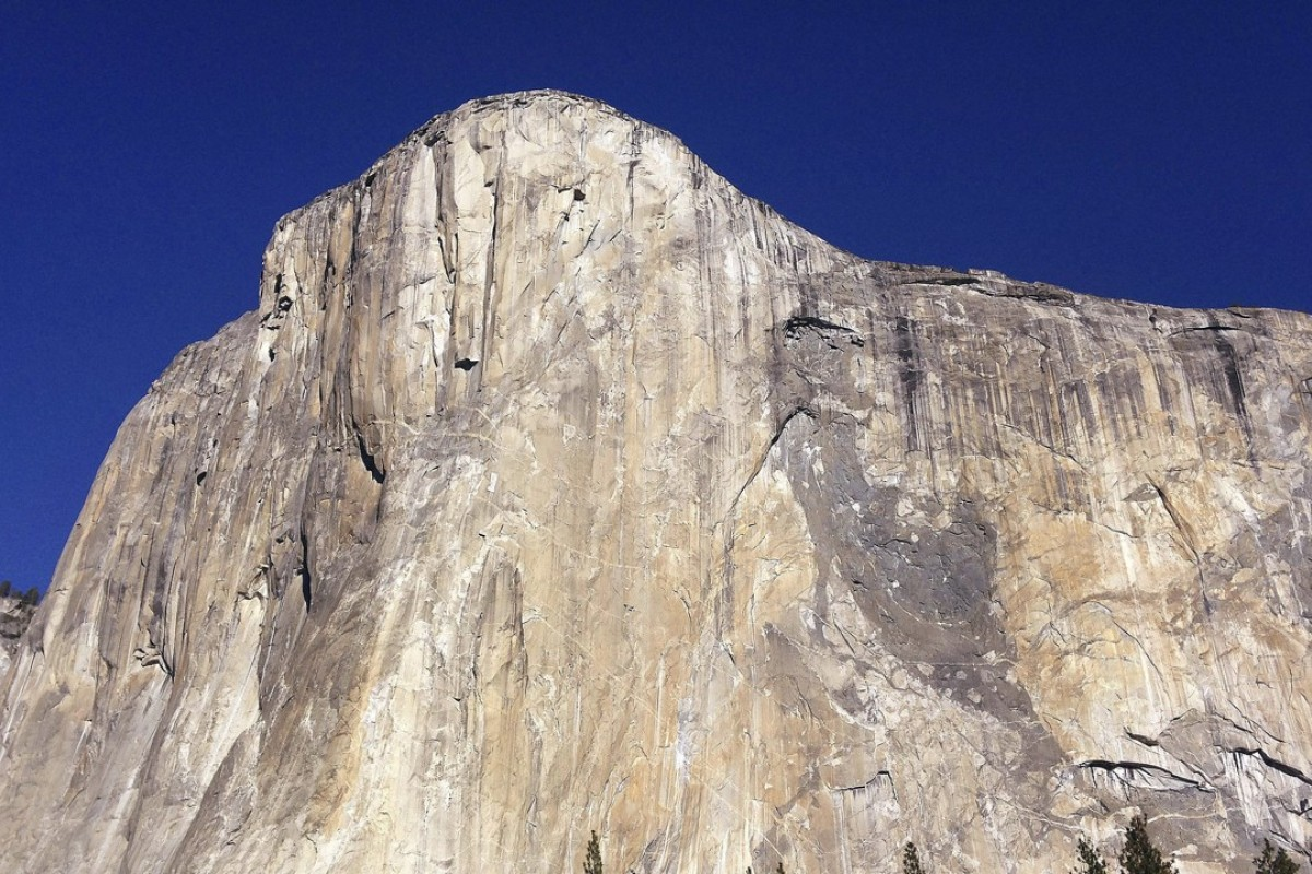 A second massive rockfall on El Capitan in as many days as injured one. Photo: AP