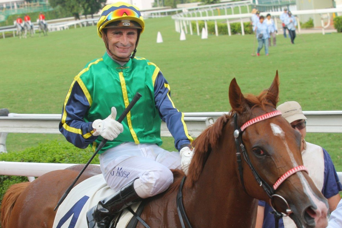 Gerald Mosse and Blizzard are no strangers to winning, teaming up at Sha Tin in July 2015. Photos: Kenneth Chan
