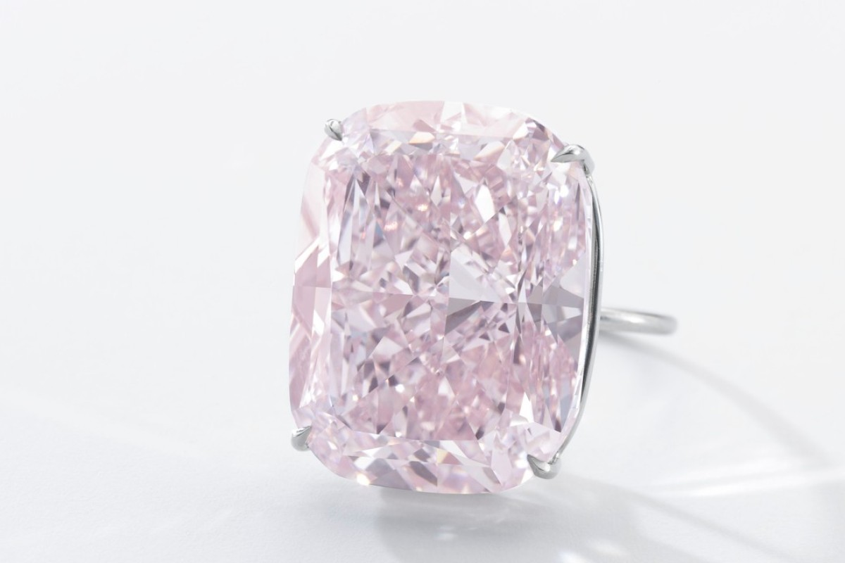 'The Raj Pink' will be auctioned at Sotheby's sale of Magnificent Jewels and Noble Jewels in Geneva on November 15.