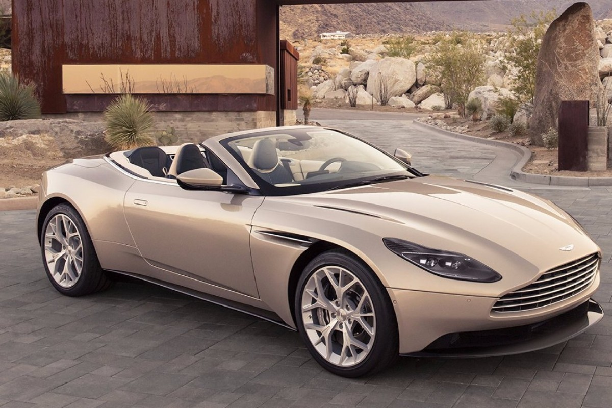 The New Aston Martin DB11 Volante Convertible Has Arrived.
