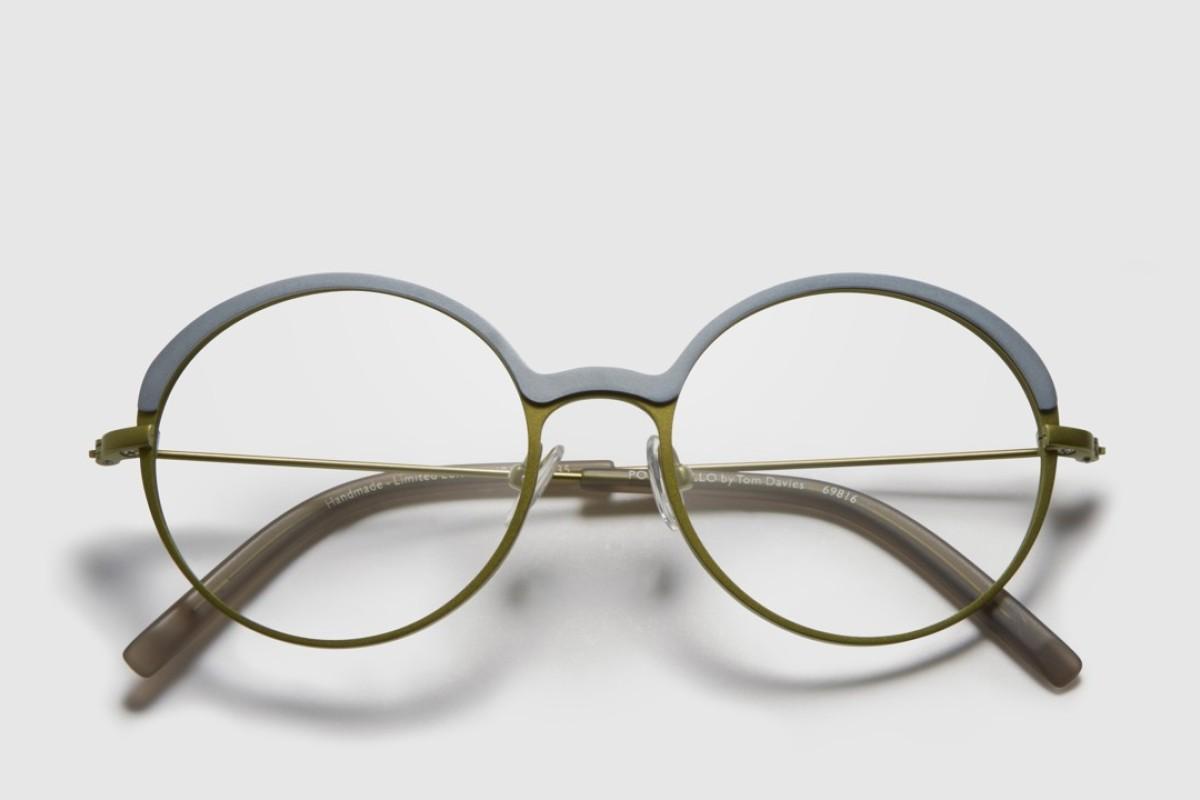 Bespoke eyewear by Tom Davies.