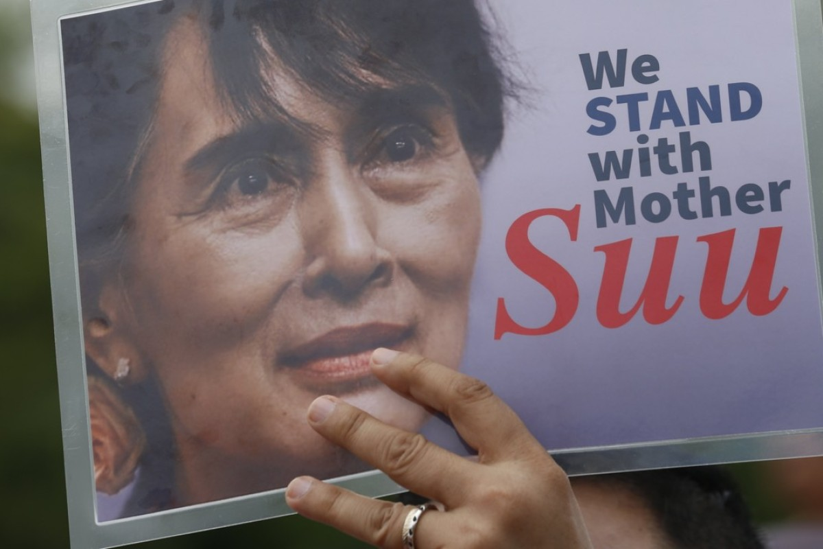 China and India are backing the beleaguered Aung San Suu Kyi government, in contrast to many Western and Islamic governments. Photo: EPA