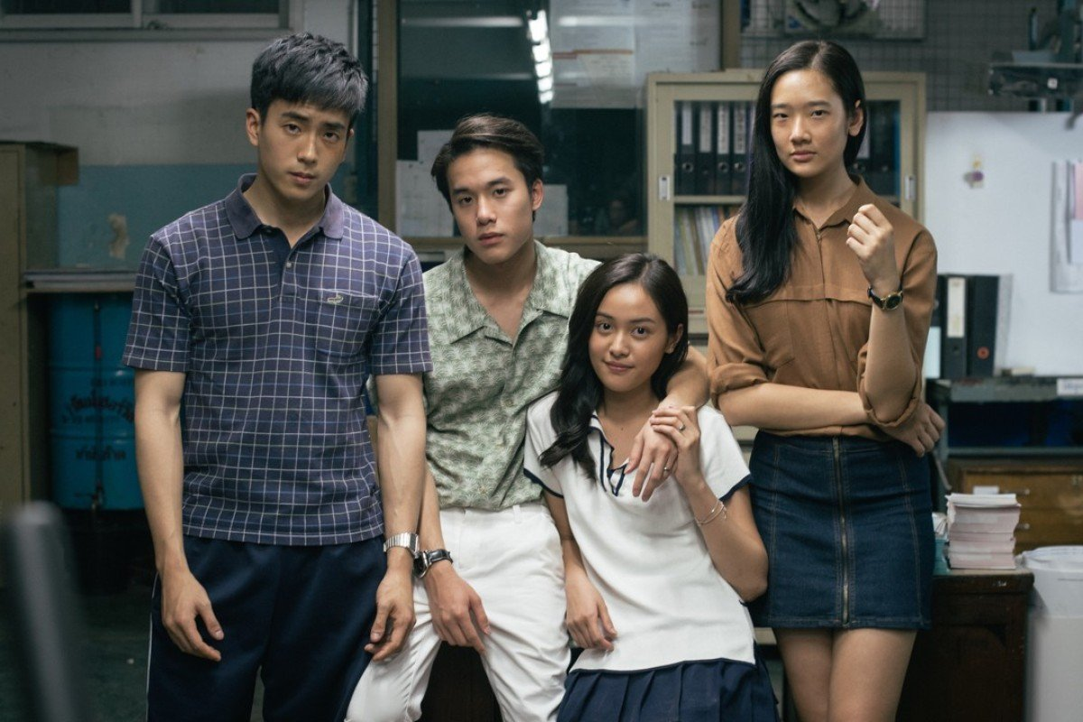 A still from the Thai movie Bad Genius, a hit in Hong Kong and now in China.