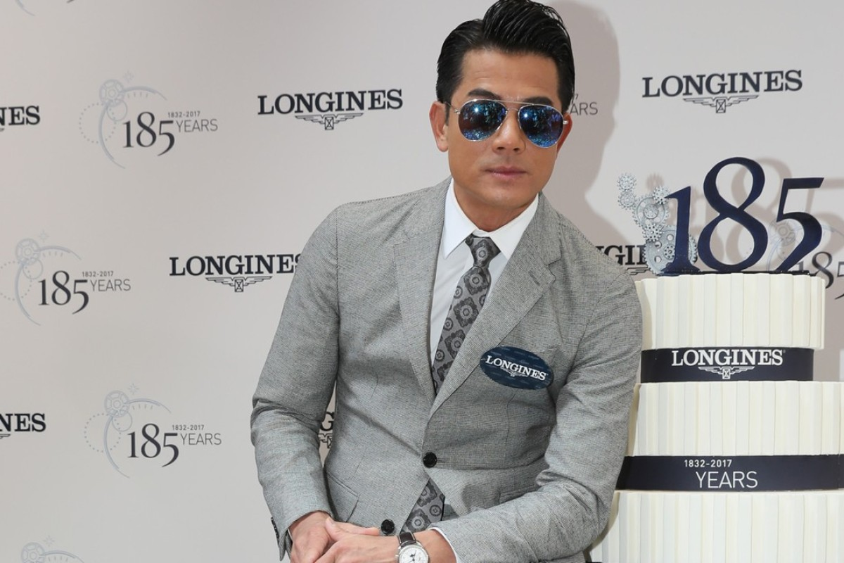 Aaron Kwok started collecting watches 12 years ago.