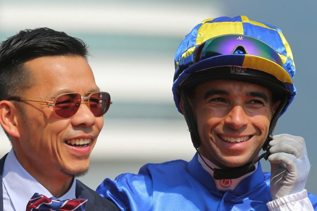 Frankie Lor and Joao Moreira have combined for four winners from five runners this season. Photos: Kenneth Chan.