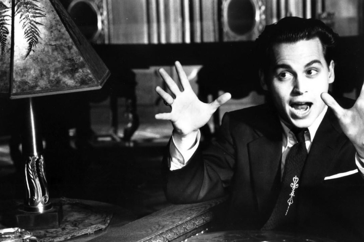 Johnny Depp as Ed Wood.