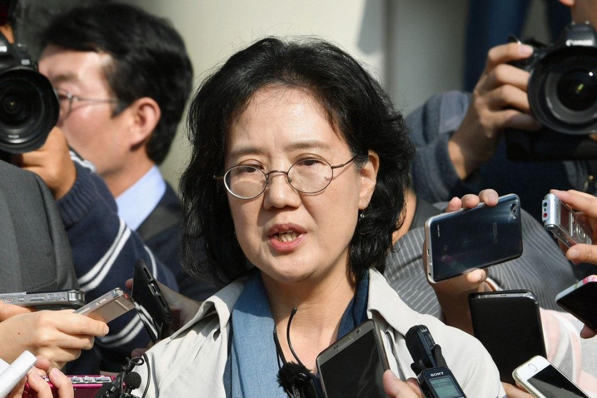 Park Yu-ha, a professor at Sejong University in Seoul. Photo: Kyodo