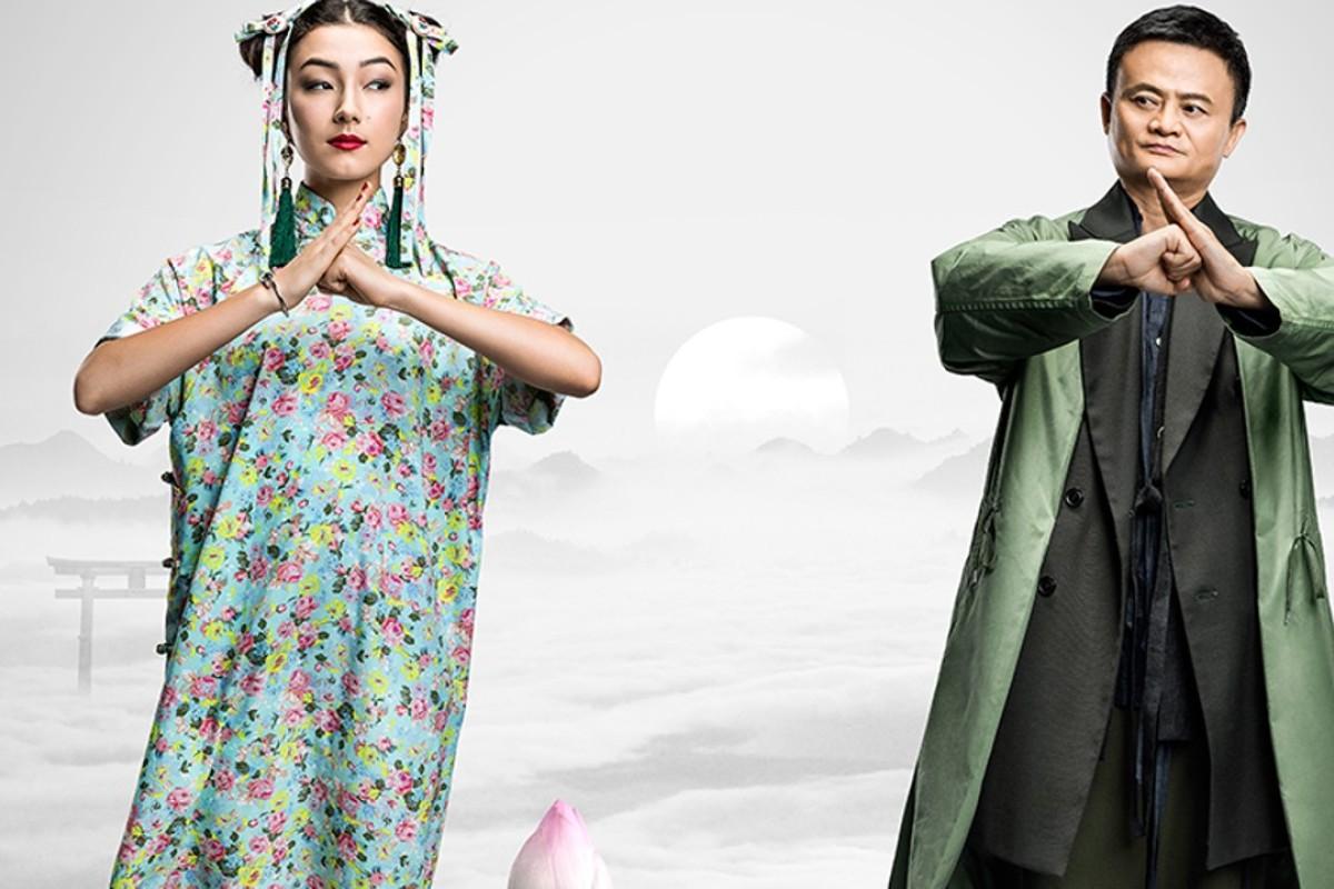 Natasha Liu (l) is the only female lead in Jack Ma's kung fu film debut