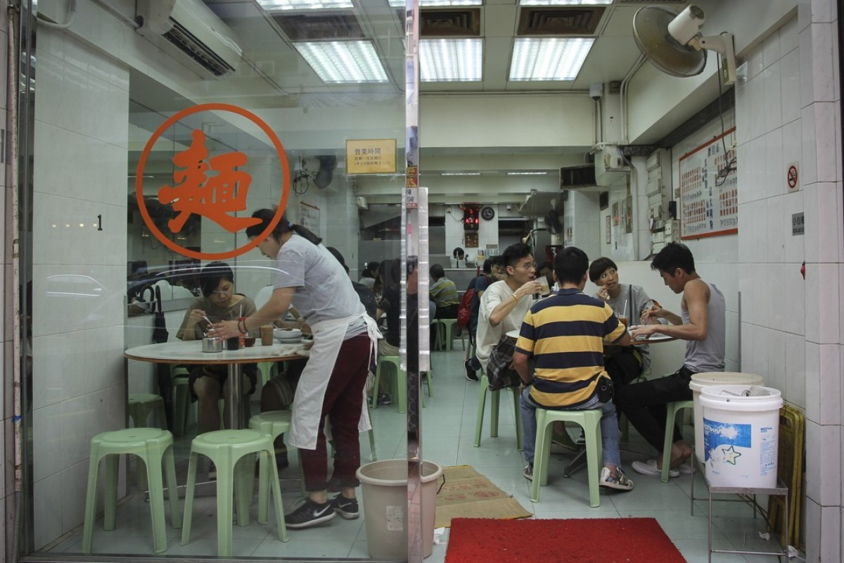 The Wai Kee Noodle Cafe, in Sham Shui Po, has been operating since the 1950s. Picture: Alkira Reinfrank