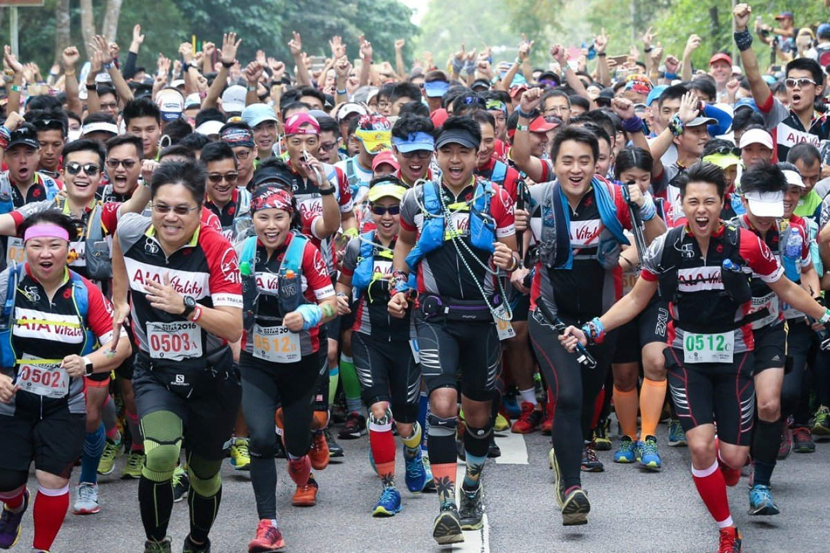 The Oxfam Trailwalker attracts people from all over the world. Photo: Dickson Lee