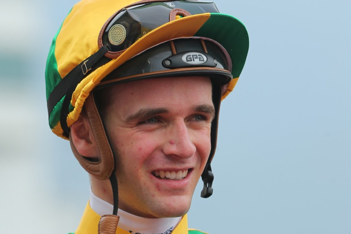Sam Clipperton after Sparkling Dragon beat Eighty Eighty last Saturday. Photos: Kenneth Chan.