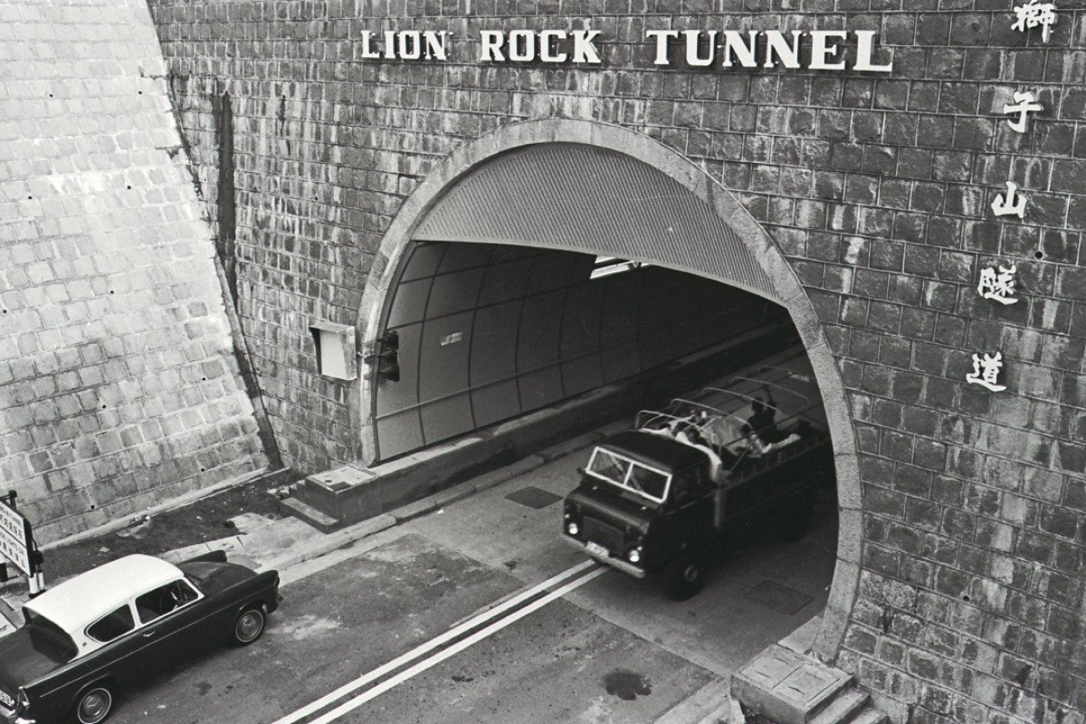 The 4,677ft Lion Rock Tunnel linking Sha Tin and Kowloon, soon after its opening. Pictures: SCMP