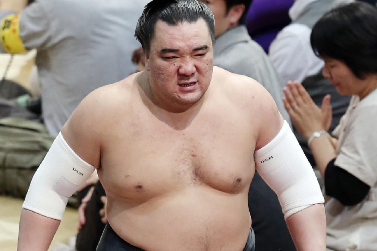 Bruiser: Harumafuji. Photo: Kyodo