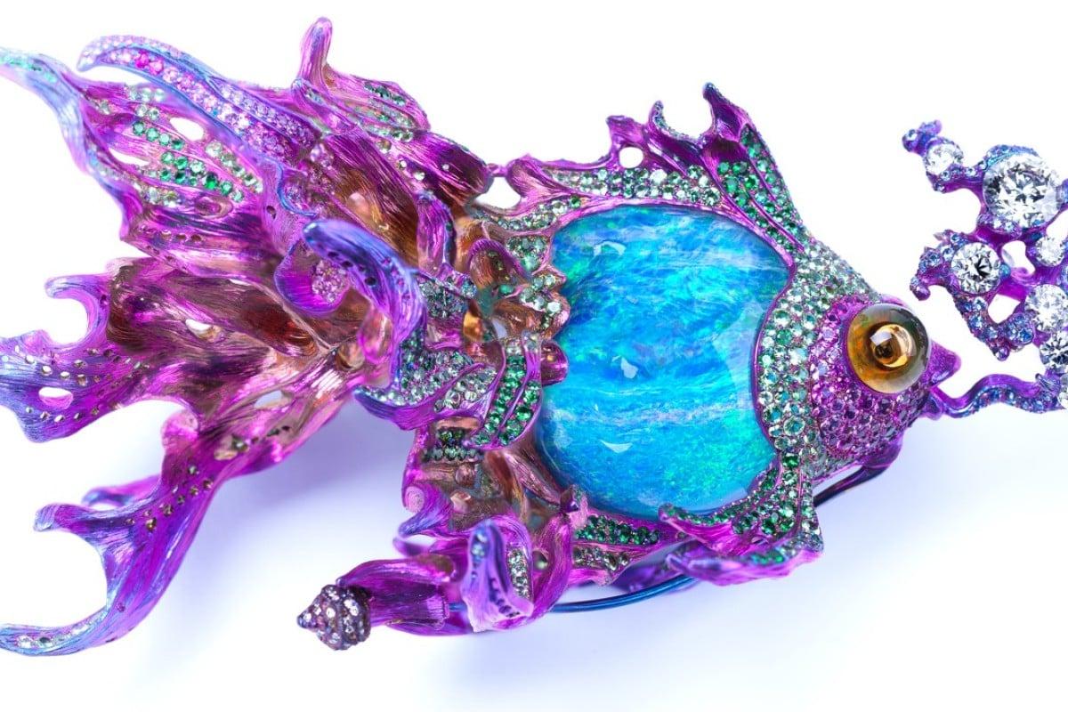 Wallace Chan's Sea of Joy|brooch.