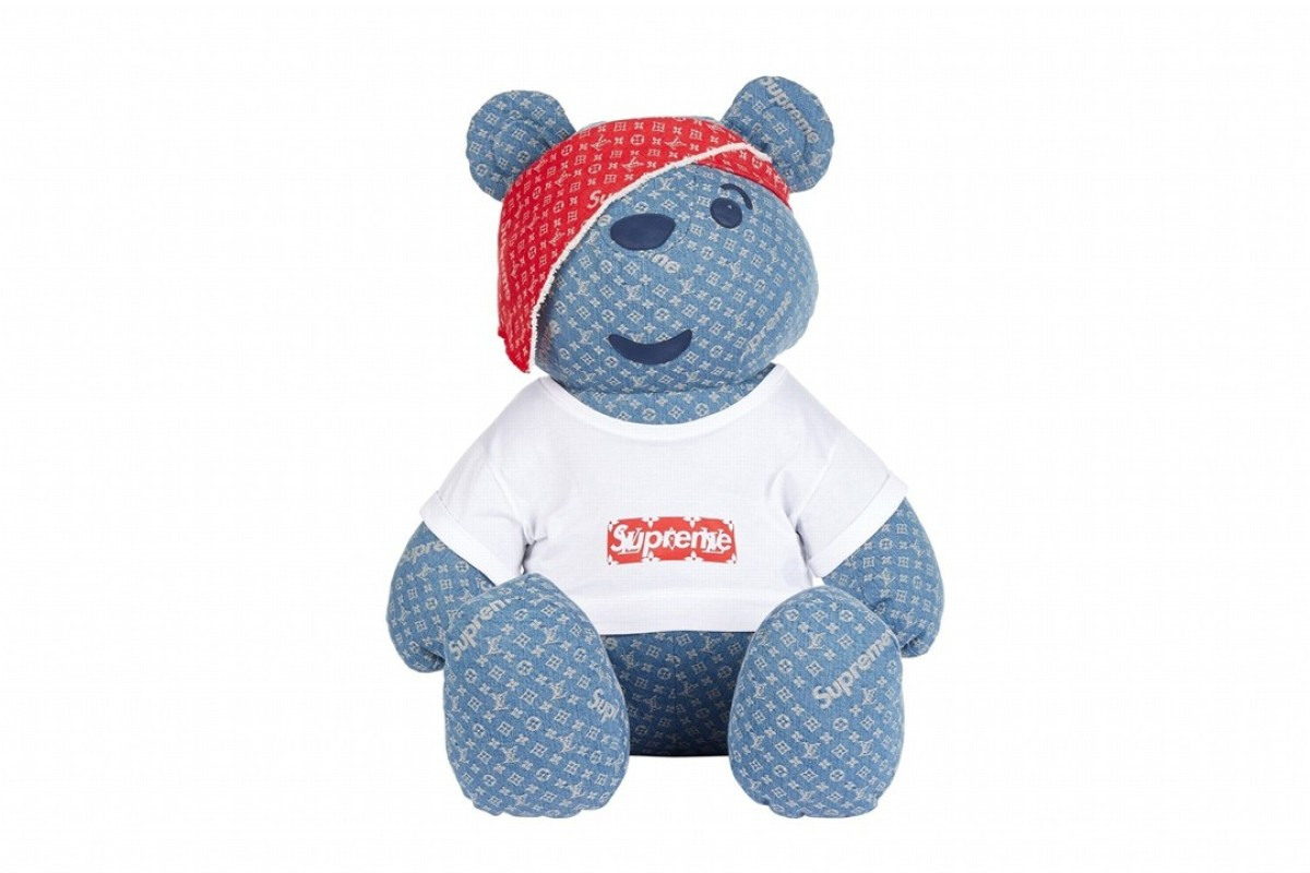 The Supreme x Louis Vuitton Pudsey Bear.