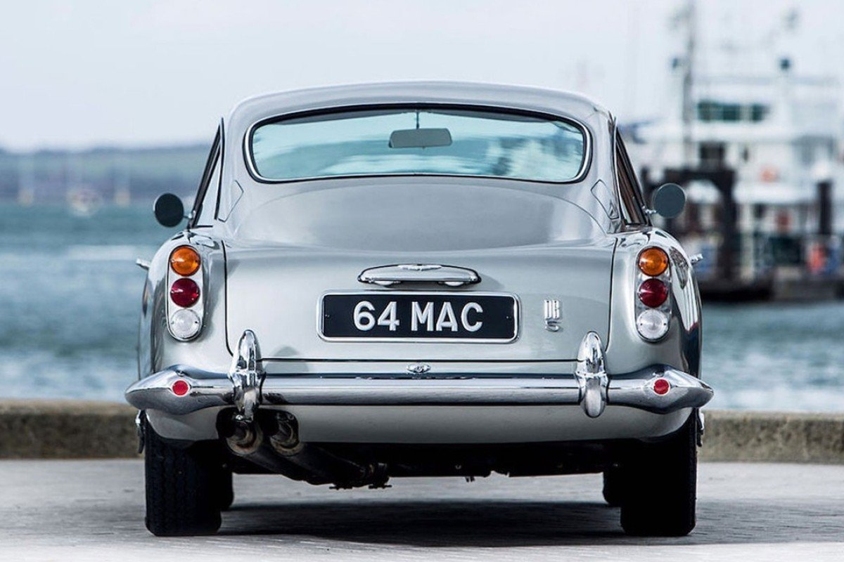 Paul Mccartney S Old 1964 Aston Martin Db5 Goes To Auction Style