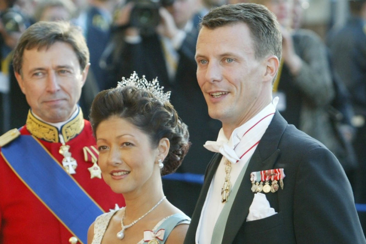 Denmark's Prince Joachim (right (and his wife Princess Alexandra on royal duty in Copenhagen in 2004. Photo: AP