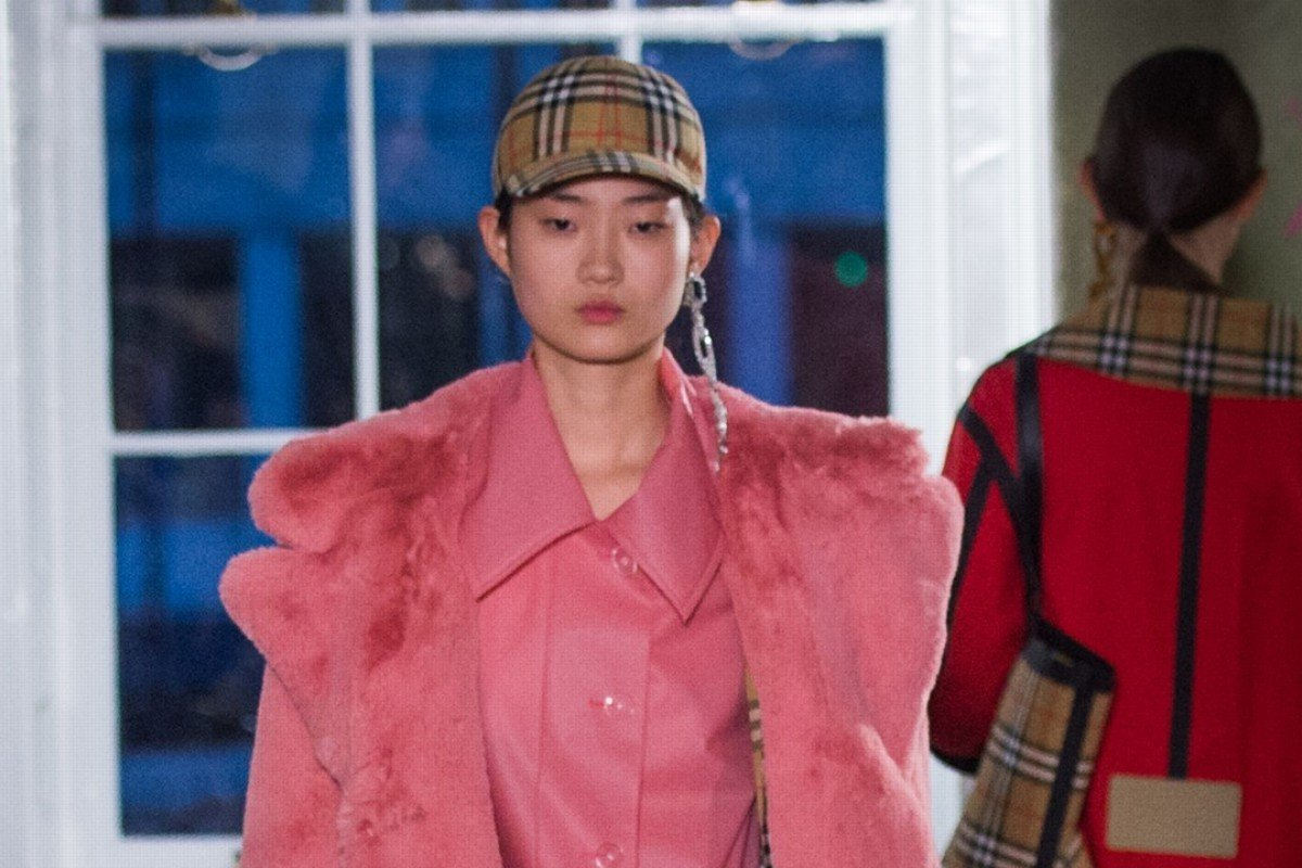 Burberry's spring/summer 2018 show at London Fashion Week featured looks that are inspired by streetwear and urban clothing.