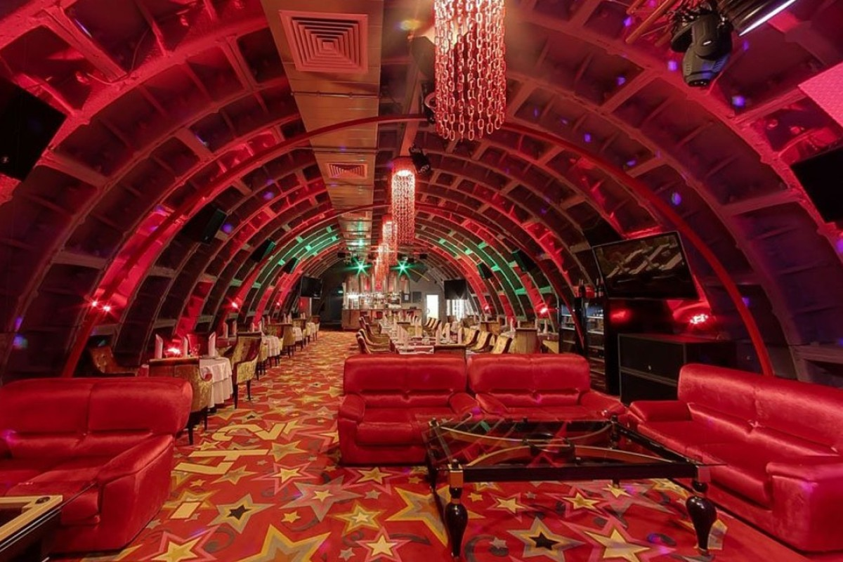 Bunker-42 in Moscow is a WWII shelter that has been transformed into a multi-functional event space.