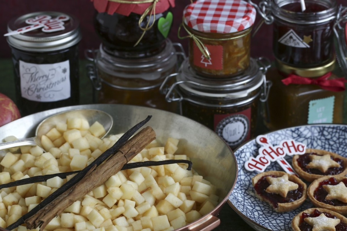 Food ideas for Christmas: mince pies, jams and preserves. Photo: Jonathan Wong