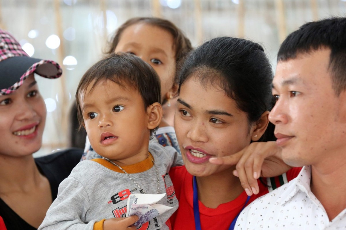 Domestic workers from Cambodia have arrived in Hong Kong to address a shortage. Photo: AFP