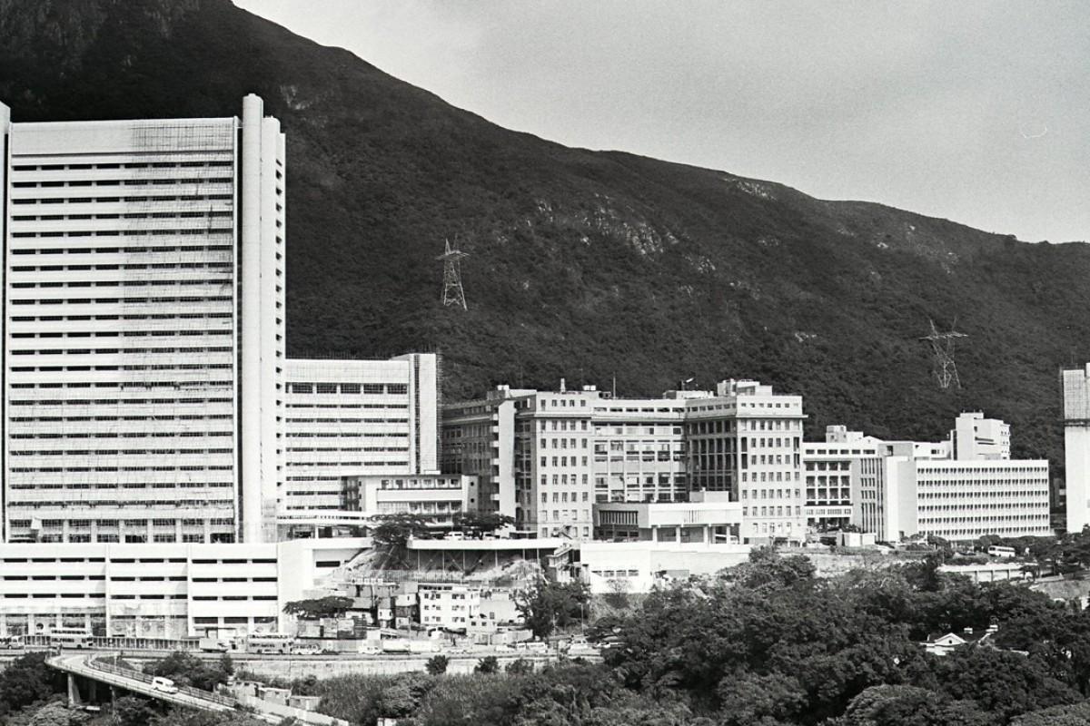Queen Mary Hospital, in Pok Fu Lam, Hong Kong Island.