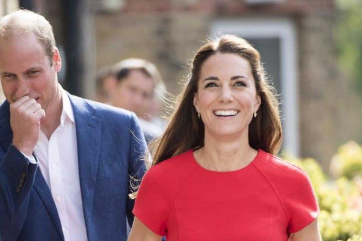 Kate Middleton and Prince William. Photo: AFP