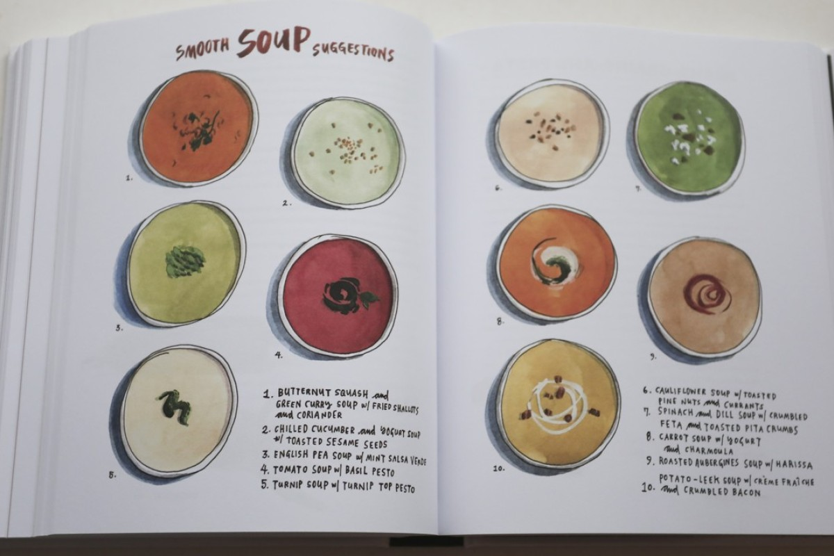 Cook book Salt, Fat, Acid, Heat Mastering the Elements of Good Cooking by Samin Nosrat. [FEATURES] SCMP / Jonathan WONG