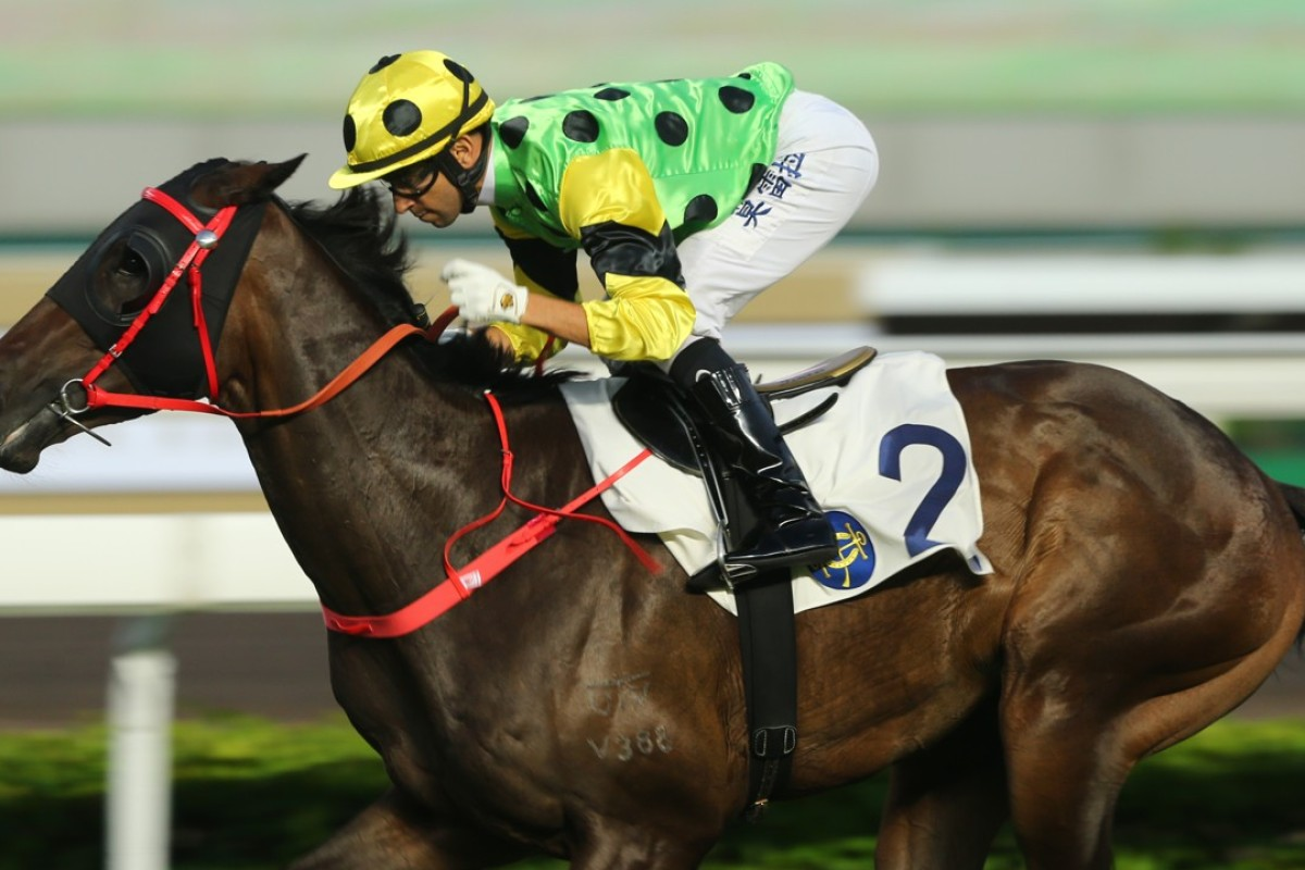 Joao Moreira and Nothingilikemore. Photos: Kenneth Chan