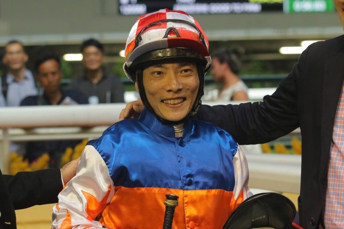 Jockey Eddy Lai. Photos: Kenneth Chan