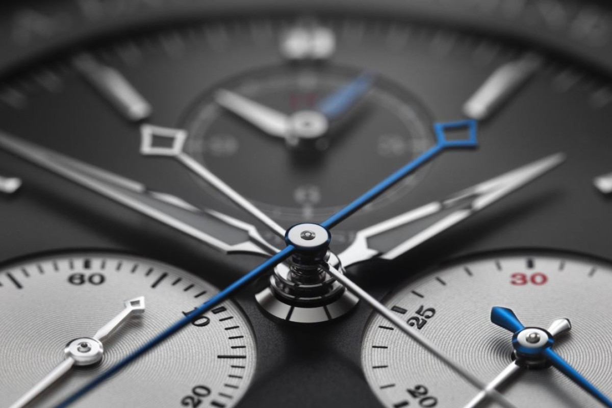 The power reserve of The Triple Split is up to 55 hours when fully wound.